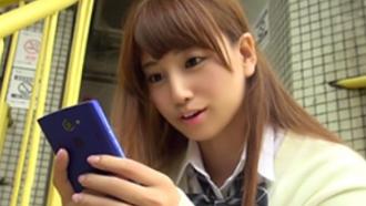 【初川みなみ】即ハメ、即フェラの円光JK!てか…制服似合いすぎて辛い