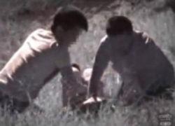 ガチレ●プ現場を隠し撮り。公園で犯される女子校生・・