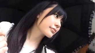 【素人】黒人ナンパ師に子宮をガン突きされるHカップ女子大生!