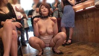 美巨乳の性奴隷を女主人が公開調教する変態サークルがヤバすぎ…