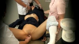 歯医者で麻酔をかけられ意識朦朧の中レイプされるJK!