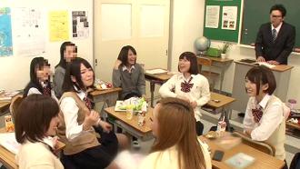せっかく女子高の先生になれたのに生徒が全然言う事聞かない上にチンコ触ってくる!
