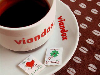 romania stamp+viandox