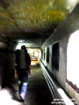 仙人ダム発電所施設内通路