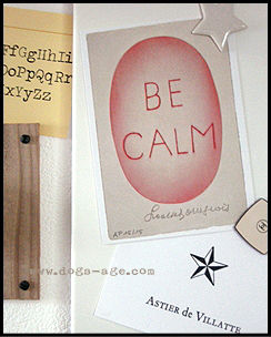 be calm - Louise Bourgeois