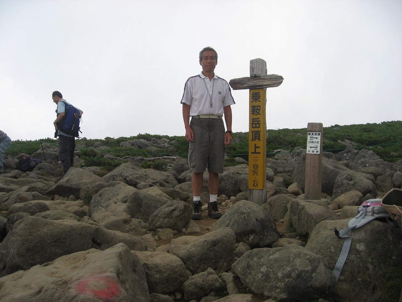 19-22 017 乗鞍岳 H氏