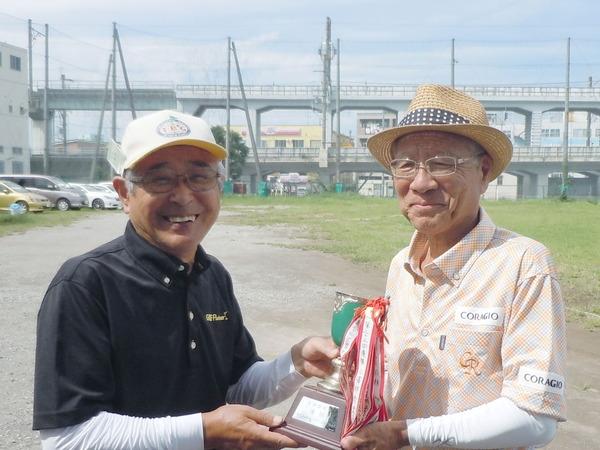 近藤会長と横田さん