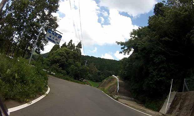 12県道から分岐