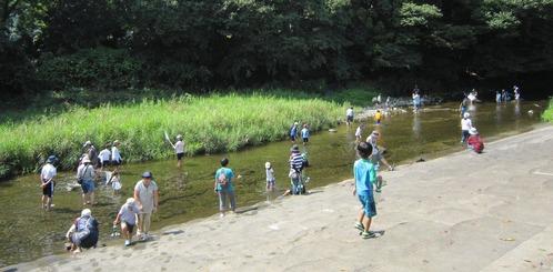 川遊び−3