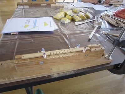 竹のおもちゃ手作り教室(がりがりとんぼ)−3