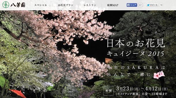 日本のお花見キュイジーヌ2015
