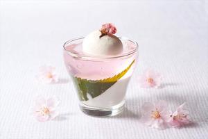 桜パンナコッタ