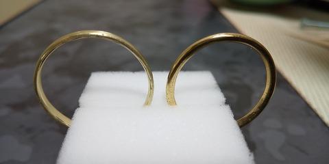 自作指輪(真鍮)
