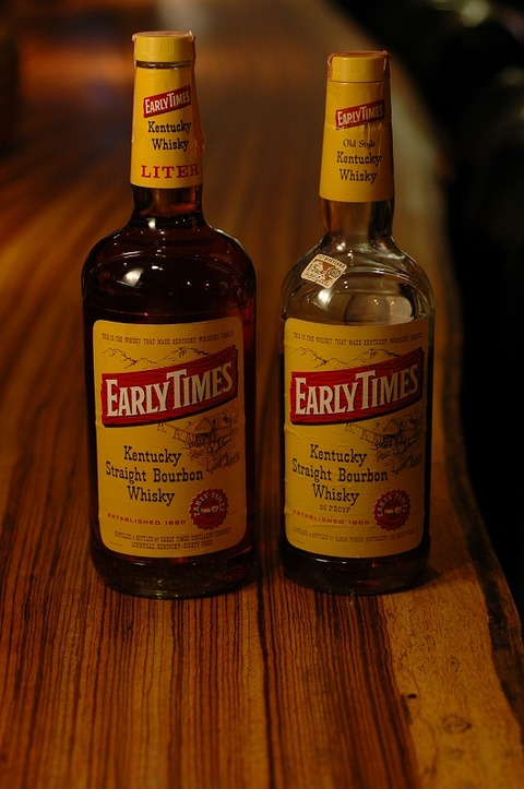 EARLY TIMES Old Style Kentucky Whisky