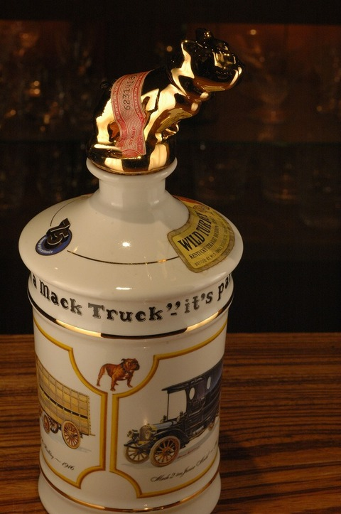 Wild Turkey Mack Trucks decanter