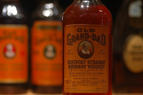OLD GRAND-DAD bottled 1966