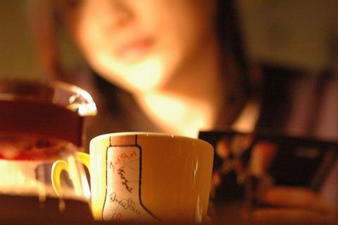 夜カフェー