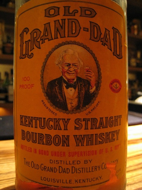 OLD GRAND-DAD (1936-1941)