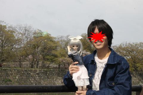 大阪城公園花見 020-2