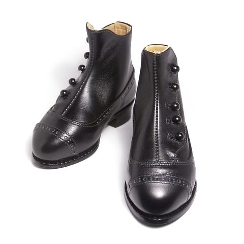 ドール靴 オーダーメイド 「ヴィクトリアン ボタンブーツ」 ― 人形作家様から個展向け衣装のご依頼をいただきました。
