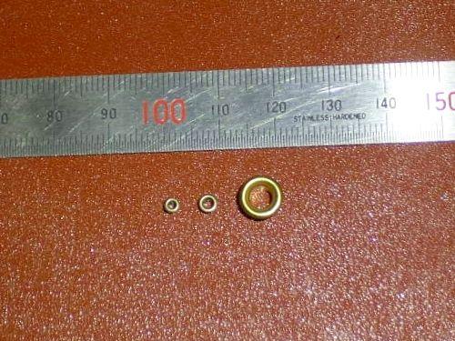 ハトメ(1.5mm 2㎜ 4.5㎜)