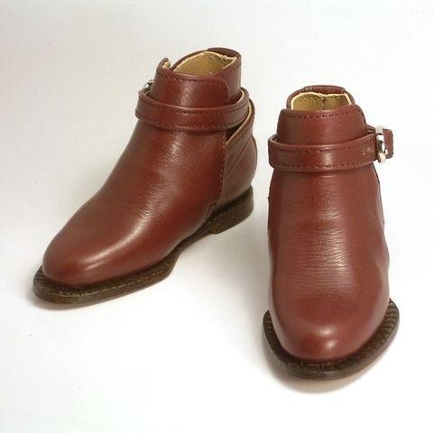 クールに足元キメるなら、ジョッパー ブーツ が出番です。 ― SD17 サイズで作りました。