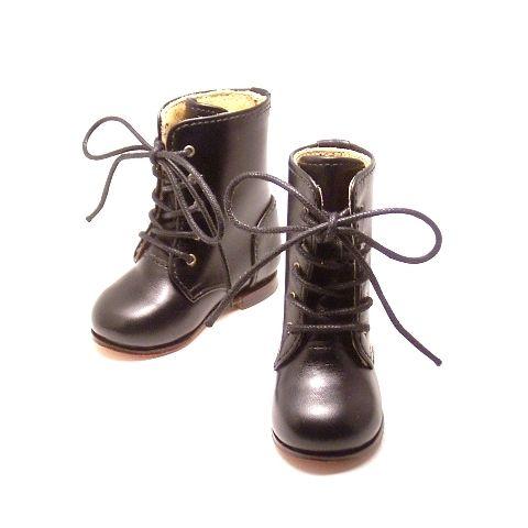 自称カフェラテ!?オリジナル ドール 用 の ハーフ ブーツ が出来上がりました。