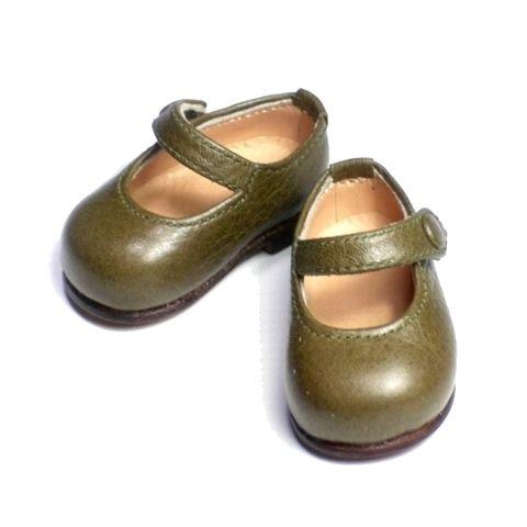 そら豆みたい?オーダーメイド ドール靴 メリージェーン。