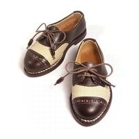デニムと革のコンビネーション。 ― SD13少年、SDGr サイズのドール靴を作りました。