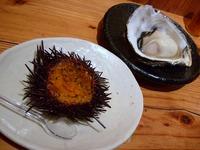 ウニ&牡蠣