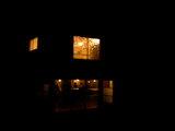 夜カフェ風景