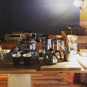 コーヒー作業