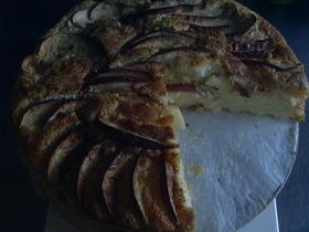デンマークりんごケーキ