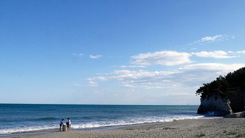 うのしまヴィラの海岸