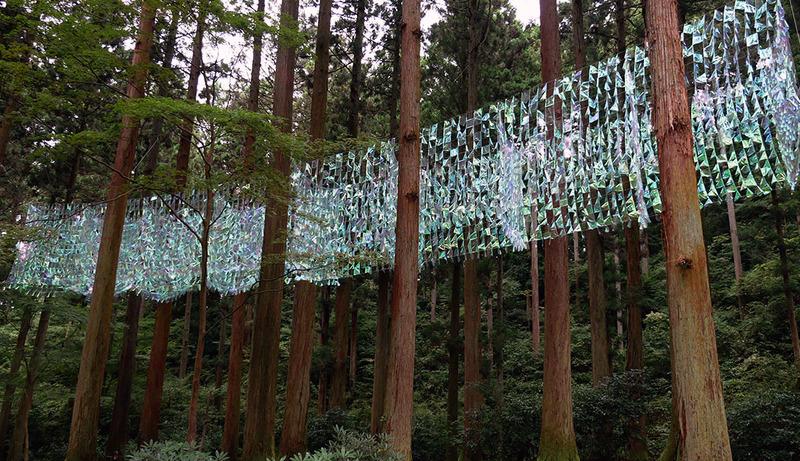 森の蜃気楼(日立/御岩神社)