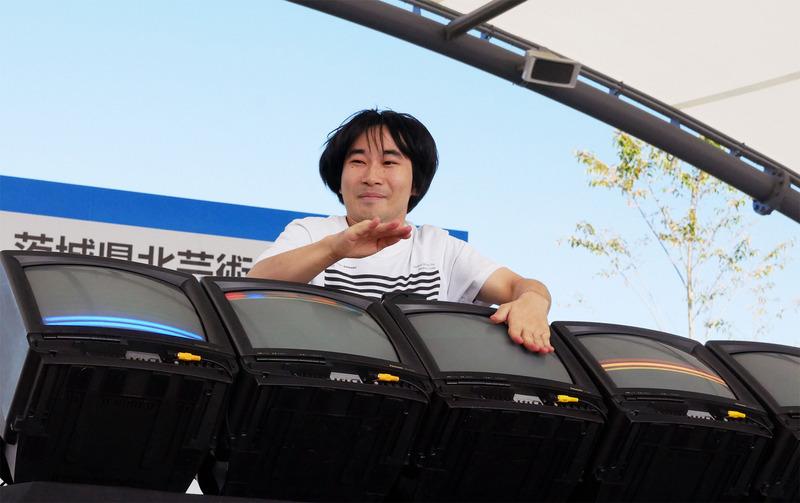 和田永さんのパフォーマンス