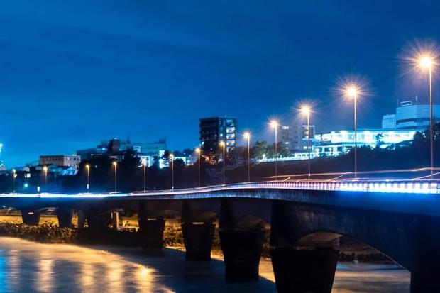 日立バイパスの夜景