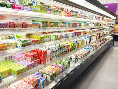 加工食品売り場
