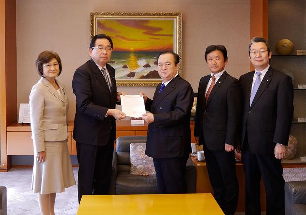 橋本昌知事への要望