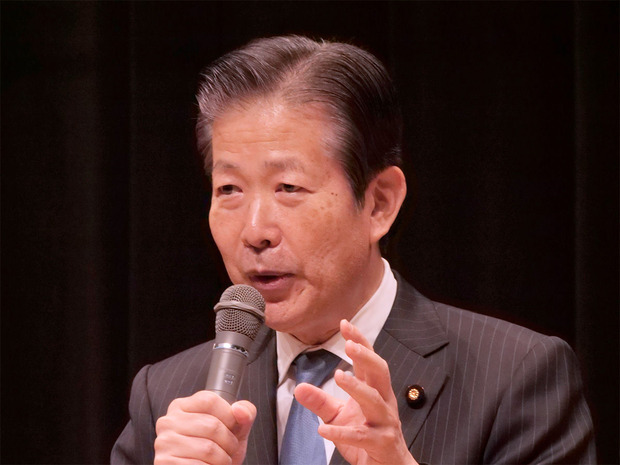 山口那津男公明党代表