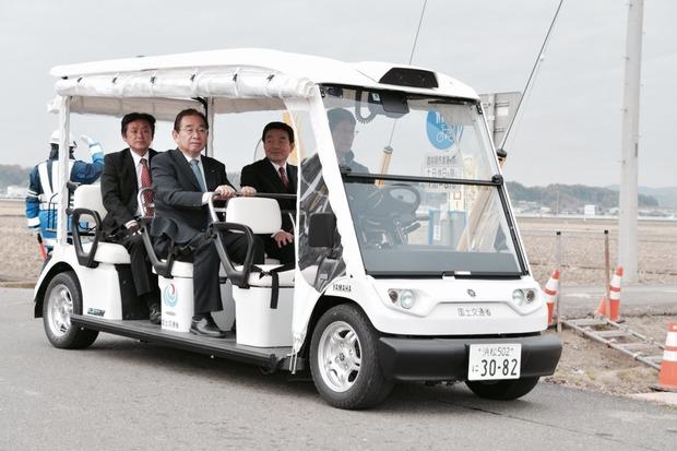 自動運転サービスの実証実験