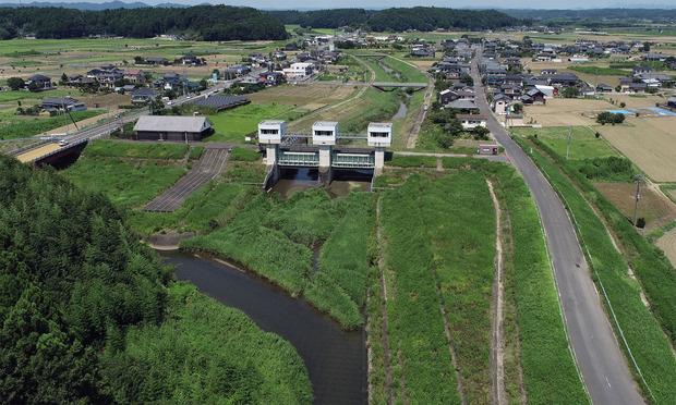 那珂川の支流藤井川