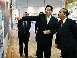 霞ヶ浦環境科学センター視察