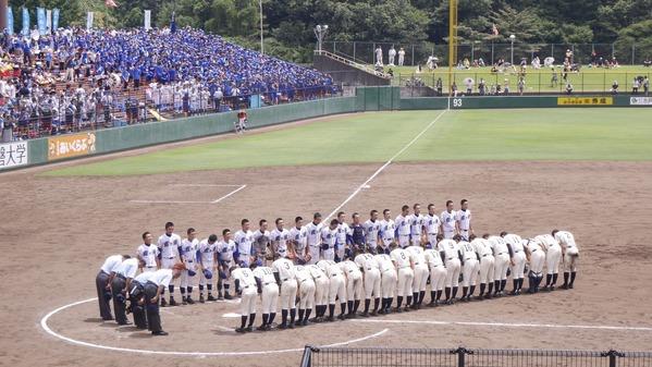 夏の高校野球決勝戦