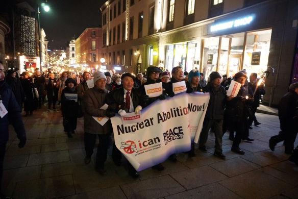 ICANパレード(核兵器廃絶日本NGOネットワークのHPより)