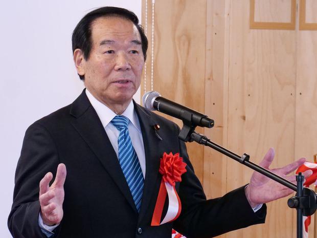 来賓挨拶:額賀福志郎衆議院議員
