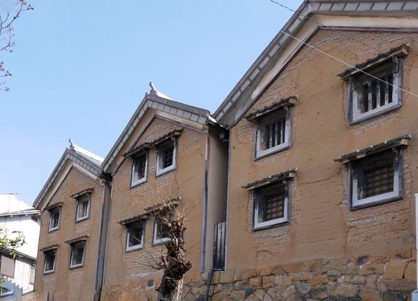 国の重要文化財「澤原邸三ッ蔵」(呉市長ノ木町)