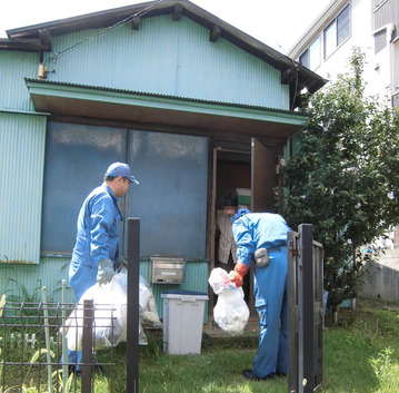 横浜市の「ふれあい収集」