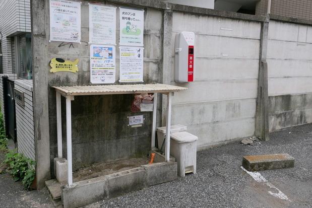 地域猫用のトイレ