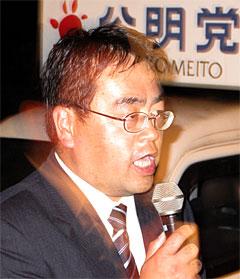 境町議選に3期目の勝利をした田山文雄議員